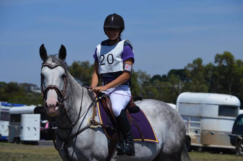 LH Priscilla and Natalya eventing