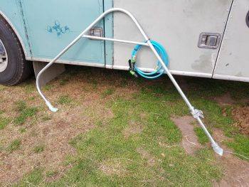 Thank you Hanley Welding ffor the over head swivel arm for our wash bay