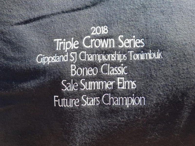 Winning trophy rug