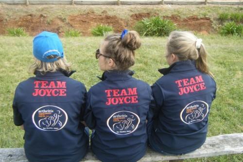 Team Joyce love horses