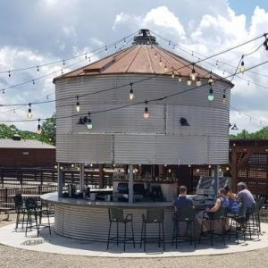 The silo bar to sit & drink