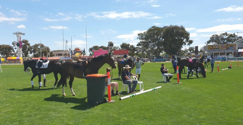 Swan Hill Show success